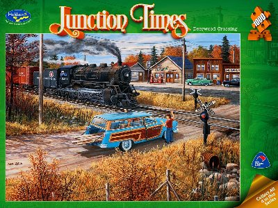 JUNCTION TIMES DEERWOOD 1000pc