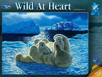 WILD AT HEART,POLAR BEARS 1000