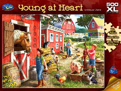 YOUNG AT HEART 500XL GARDENING