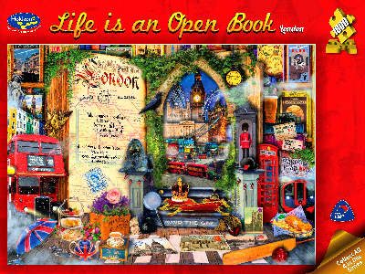 LIFE IS AN OPEN BOOK, LONDON