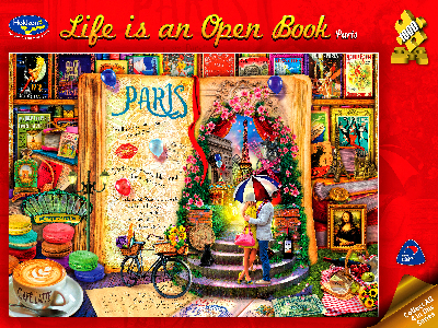 LIFE IS AN OPEN BOOK, PARIS
