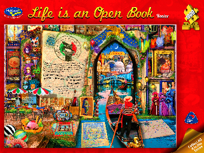 LIFE IS AN OPEN BOOK, VENICE