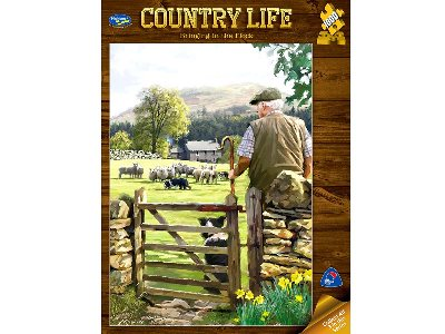COUNTRY LIFE, THE FLOCK 1000pc