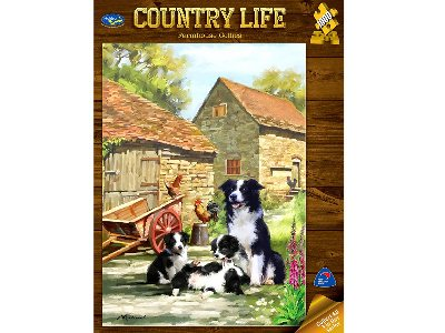 COUNTRY LIFE, COLLIES 1000pc