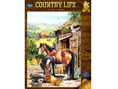 COUNTRY LIFE, FARRIER 1000pc