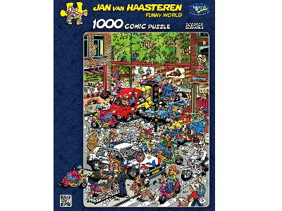 JVH SCOOTER SCRAMBLE 1000pc
