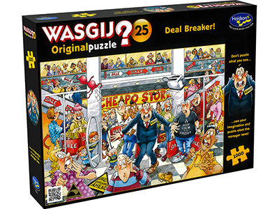 WASGIJ? ORIGINAL 25 DEALBREAKR