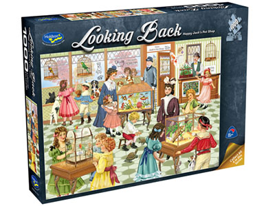LOOKING BACK PET SHOP 1000pc