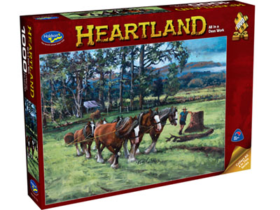 HEARTLAND 2 A DAYS WORK 1000pc