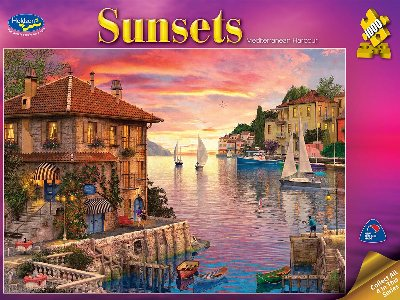 SUNSETS 2 MEDITERRANEAN 1000pc