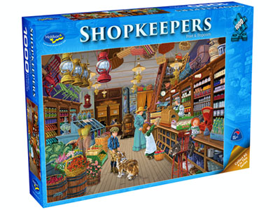 SHOPKEEPERS POST & POPCORN