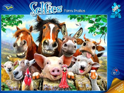SELFIES 2 FARM FROLICS 500pc