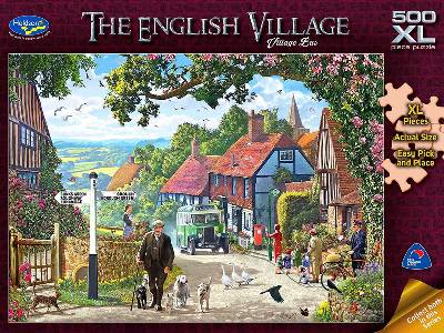 ENGLISH VILLAGE 500XL BUS