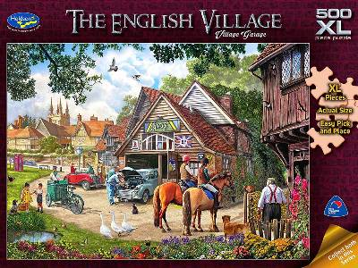ENGLISH VILLAGE 500XL GARAGE