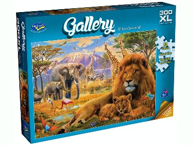 GALLERY 5 AFRICAN SAVANA 300XL