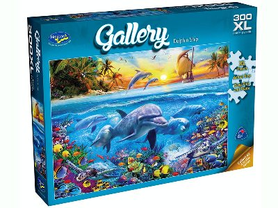GALLERY 5 DOLPHIN SHIP 300pcXL