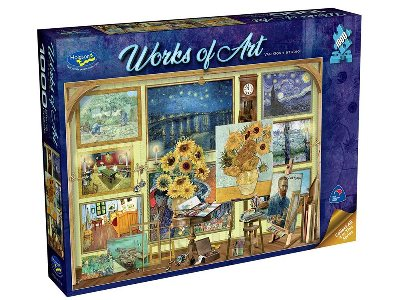 WORKS OF ART VAN GOGH STUDIO
