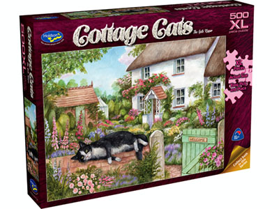 COTTAGE CATS 500pcXL GATE KEEP