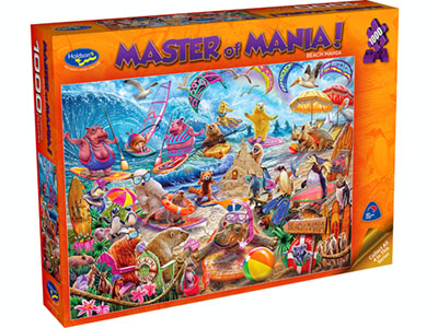 MASTER OF MANIA! 1000pc BEACH