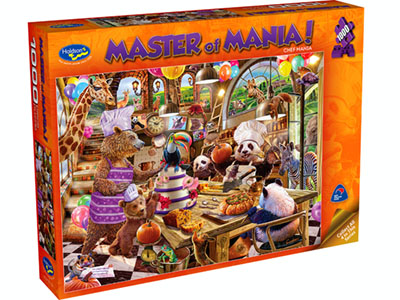 MASTER OF MANIA! 1000pc CHEF