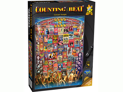 COUNTING THE BEAT CONCERT 1000