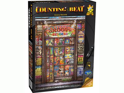 COUNTING THE BEAT GROOVY 1000p