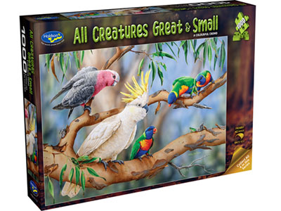 ALL CREATURES 1000pc BIRDS
