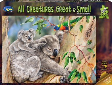 ALL CREATURES 1000pc KOALA