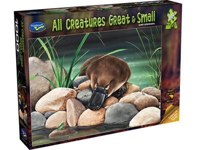 ALL CREATURES 1000pc PLATYPUS