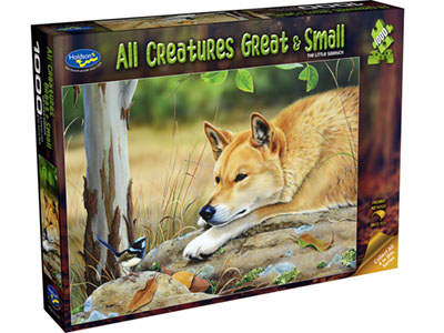 ALL CREATURES 1000pc DINGO