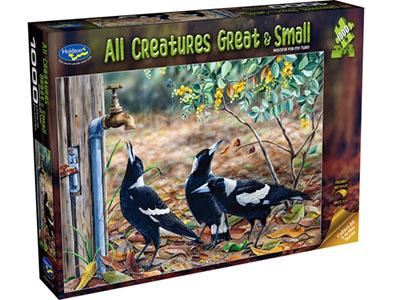 ALL CREATURES 1000pc MAGPIE