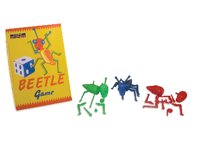 THE BEETLE GAME 1950's version