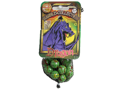 MARBLES, Bag of 20+1, DRAGON