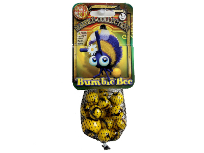 MARBLES, Bag of 20+1,BUMBLEBEE