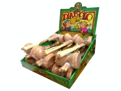 DIABOLOS (Wooden) Displ.of 12