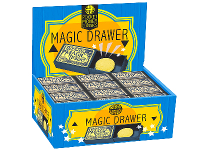 MAGIC DRAWER Display of 60