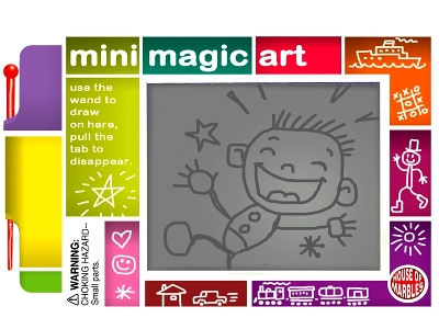 MINI MAGIC ART Display of 80