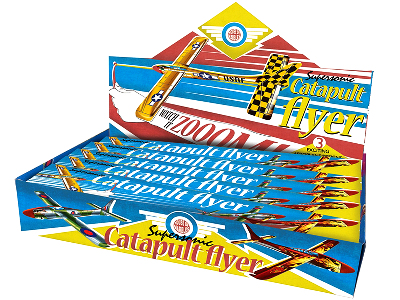 CATAPULT FLYERS, Display of 24