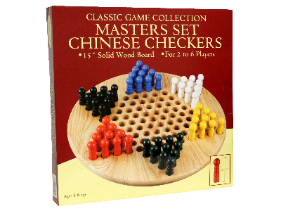 CHINESE CHECKERS MASTER SET