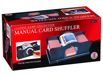CARD SHUFFLER, MANUAL
