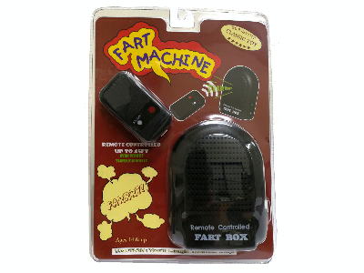 REMOTE CONTROL FART MACHINE