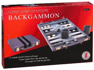 "BACKGAMMON 11"" VINYL, STITCHED"