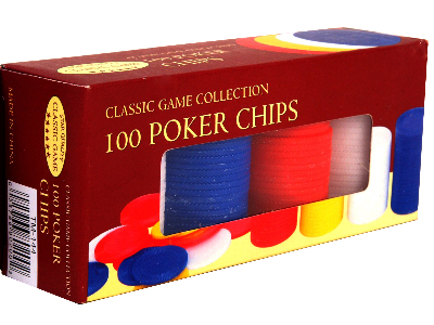 "POKER CHIPS 1.5"" PLASTIC x 100"