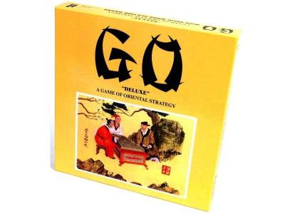 GO SET, DELUXE, WOOD YELLOW BX