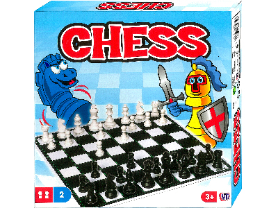 "CHESS SET, Plastic, 2.75"" King"