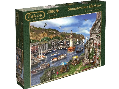 SUMMERTIME HARBOUR 1000pc