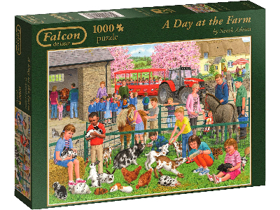 A DAY AT THE FARM 1000pc