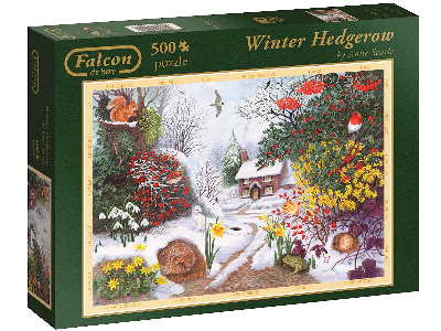 WINTER HEDGEROW 500pc