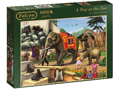 A DAY AT THE ZOO 1000pc