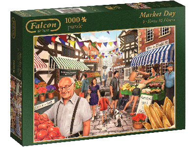 MARKET DAY 1000pc